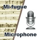 Emission de radio Mi-fugue Microphone