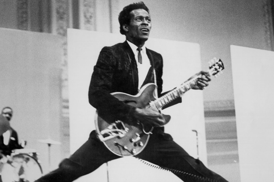 chuck-berry-black-and-blue